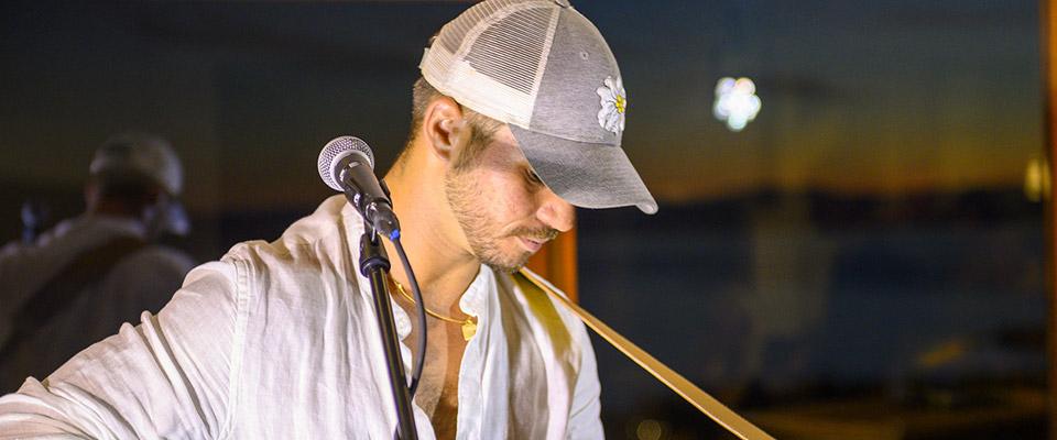 Antony Trice, The Voice performing Live